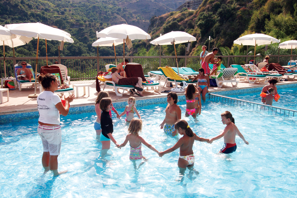 Hotel Antares-Olimpo-Le Terrazze | Hotel with spa in Taormina