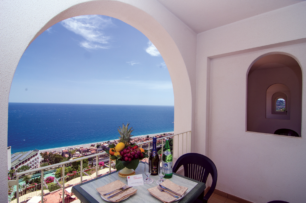 Hotel Antares-Olimpo-Le Terrazze   Hotel with spa in Taormina